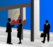 Geschäfts-Szene Lizenzfreies Stockbild