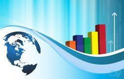 Geschäfts-Tapete Stockbild