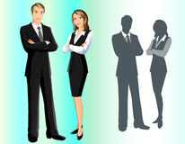 Geschäfts-Team Vektor Abbildung