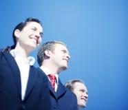 Geschäfts-Team-Anblick lizenzfreie stockfotografie