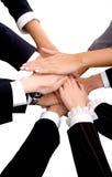 Geschäfts-Team-Arbeit Lizenzfreie Stockfotografie