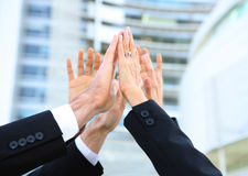 Geschäfts-Team-Erfolg Stockbild