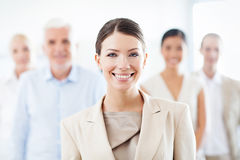 Geschäfts-Team für Erfolg Lizenzfreie Stockfotografie