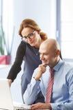 Geschäfts-Team im Büro Stockfoto