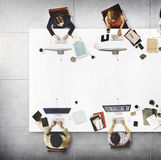 Geschäfts-Team Meeting Connection Digital Technology-Konzept Lizenzfreie Stockbilder