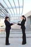 Geschäfts-Team-Report Lizenzfreie Stockfotografie
