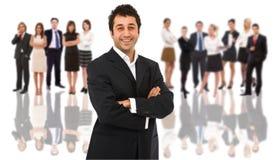 Geschäfts-Teamleiter stockfotografie