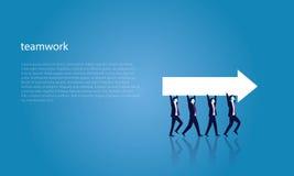 Geschäfts-Teamwork, zum des Erfolgs zusammen zu erreichen Lizenzfreies Stockfoto