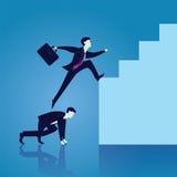 Geschäfts-Teamwork, zum des Erfolgs zusammen zu erreichen Stockbild