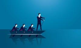 Geschäfts-Teamwork, zum des Erfolgs zusammen zu erreichen Lizenzfreie Stockfotografie