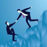 Geschäfts-Teamwork, zum des Erfolgs zusammen zu erreichen Stockfotos