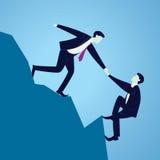 Geschäfts-Teamwork, zum des Erfolgs zusammen zu erreichen Lizenzfreie Stockfotos