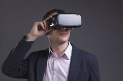 Geschäfts-, Technologie-, Internet- und Netzkonzept Stockfoto