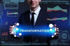 Geschäfts-, Technologie-, Internet- und Netzkonzept Junges busine vektor abbildung
