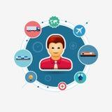 Geschäfts-Transport-Konzept Lizenzfreie Stockfotos