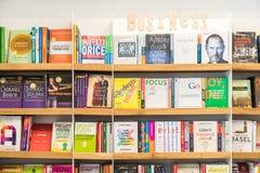Geschäfts-und Finanzbücher Stockbild