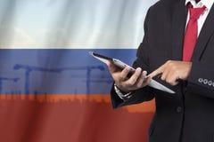 Geschäfts- und Mobilitätskommunikationskonzept Lizenzfreie Stockfotos