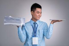 Geschäfts- und Technologiekonzept stockbilder