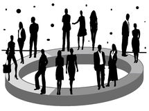Geschäfts- und Wirtschaftlichkeitstatistiken Lizenzfreie Stockbilder