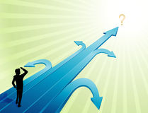 Geschäfts-Ungewissheit Lizenzfreies Stockfoto