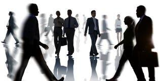 Geschäfts-Unternehmenspendler-Reise-Büroangestellt-Konzept Stockfotografie