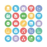 Geschäfts-Vektor-Ikonen 5 Lizenzfreies Stockfoto