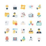 Geschäfts-Vektor-Ikonen 10 lizenzfreie abbildung