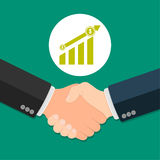 Geschäfts-Vereinbarungs-Konzept Stockbild