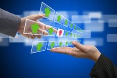 Geschäfts-Verstärkung und Arbeitskraft-Konzept Stockfotos