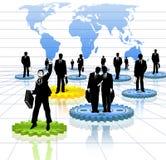 Geschäfts-Welt Stockfoto