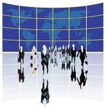 Geschäfts-Welt Stockbild