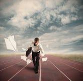 Geschäfts-Wettbewerb stockfotos