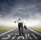 Geschäfts-Wettbewerb Lizenzfreies Stockfoto