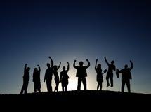 Geschäfts-Zusammenarbeits-Kollege-Besetzungs-Partnerschafts-Teamwork lizenzfreie stockfotos