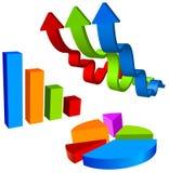Geschäftsabbildung für Darstellung Lizenzfreie Stockfotografie