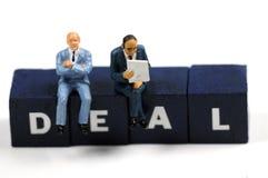 Geschäftsabkommen Lizenzfreie Stockfotos