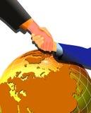 Geschäftsabkommen lizenzfreie abbildung