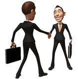 Geschäftsabkommen Lizenzfreies Stockfoto