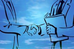 Geschäftsabkommen I Lizenzfreie Stockbilder