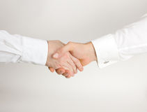 Geschäftsabkommenhändedruck Lizenzfreies Stockfoto
