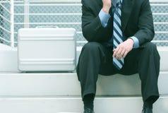 Geschäftsaktenkoffer Lizenzfreies Stockfoto