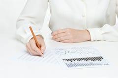Geschäftsanalyse Lizenzfreies Stockbild