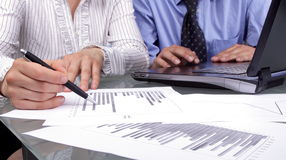 Geschäftsanalyse Lizenzfreie Stockfotos