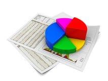 Geschäftsanalysieren Lizenzfreies Stockfoto