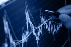 Geschäftsanalysieren stockbilder