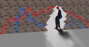 Geschäftsanblick - Anfang von ein neues Risiko Lizenzfreies Stockfoto