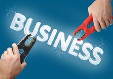 Geschäftsanfang Lizenzfreie Stockfotos