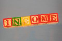 Geschäftsausdruck - Einkommen stockfotografie