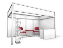 Geschäftsausstellung-Standplatz Lizenzfreies Stockbild