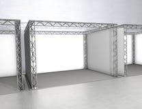 Geschäftsausstellungstandplätze Stockfotos